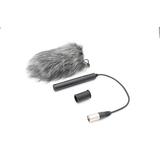 JZW CM210专业摄像机机头话筒 随机采访话筒录音麦克风 送毛衣