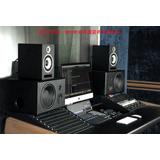 德国逊卡XUOKA M60专业有源监听音箱 6.5寸60W 录音棚级