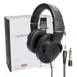Audio Technica/铁三角 ATH-M20X专业监听耳机录音室手机电脑可用主播头戴式耳机